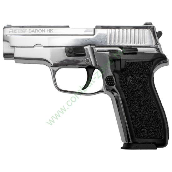 Retay Baron HK gáz-riasztó pisztoly, nikkel
