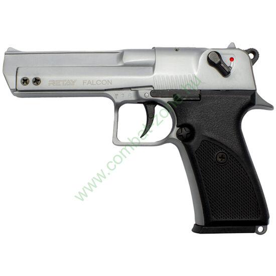 Retay Falcon Desert Baby gáz-riasztó pisztoly, króm