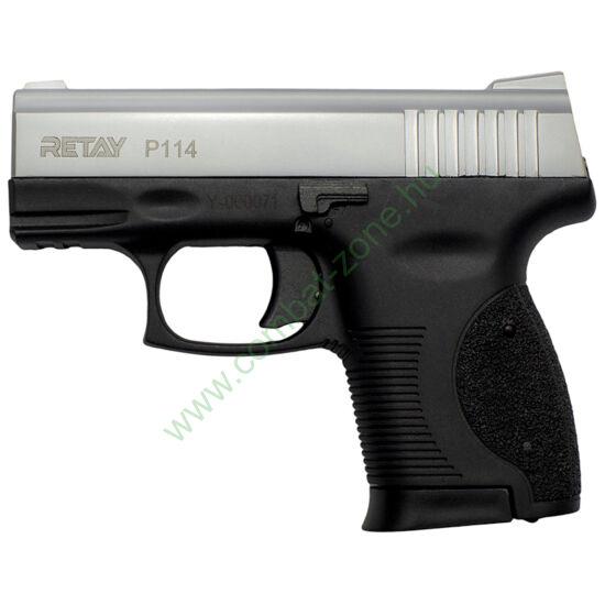 Retay P114 gáz-riasztó pisztoly, króm