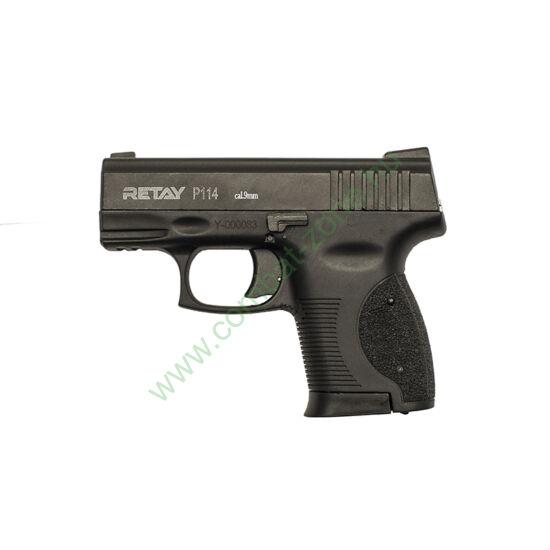 Retay P114 gáz-riasztó pisztoly, fekete