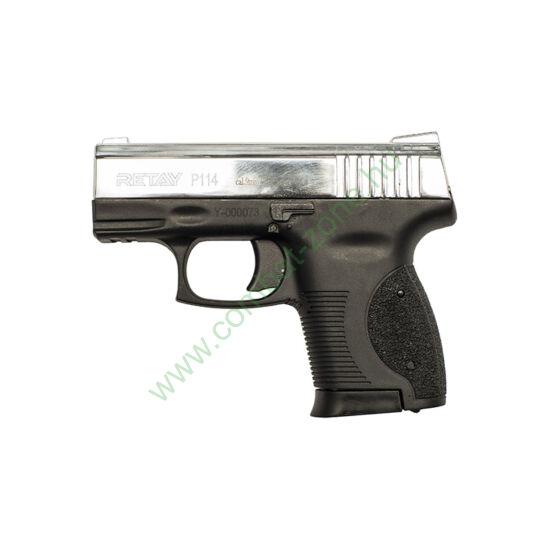 Retay P114 gáz-riasztó pisztoly, nikkel