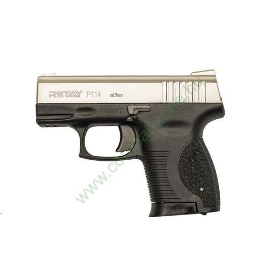 Retay P114 gáz-riasztó pisztoly, saten