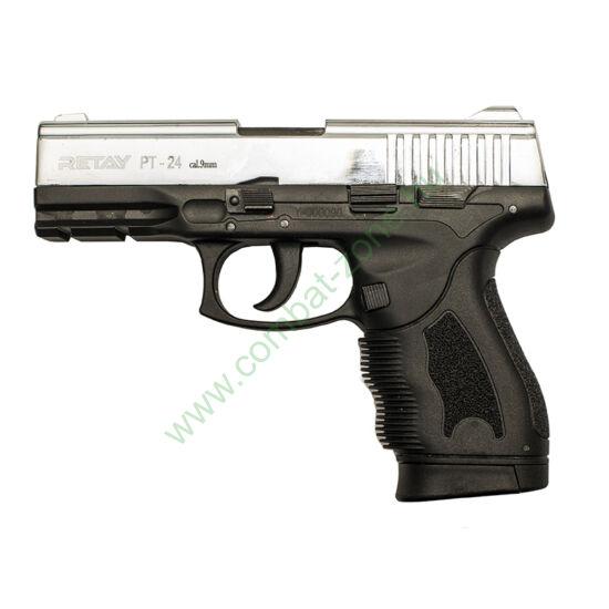 Retay PT-24 Taurus gáz-riasztó pisztoly, nikkel