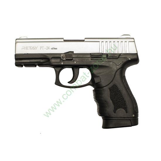 Retay PT-24 Taurus gáz-riasztó pisztoly, króm