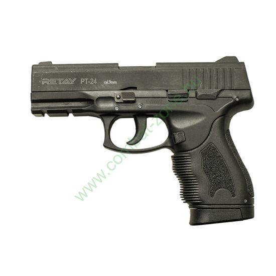 Retay PT-24 Taurus gáz-riasztó pisztoly, fekete