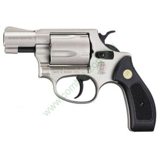 Smith & Wesson Chiefs Special gáz-riasztó pisztoly, nikkel