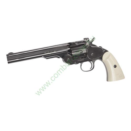 "Schofield 6"" revolver, acélszürke"