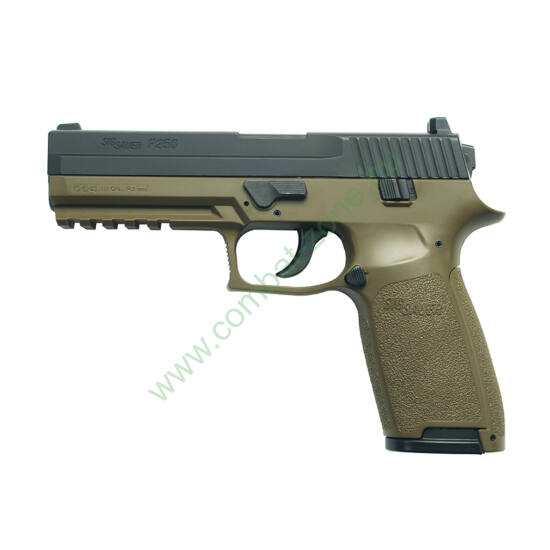 Sig Sauer P250 légpisztoly, OD green