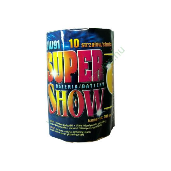 Super Show 6, 10 lövéses telep