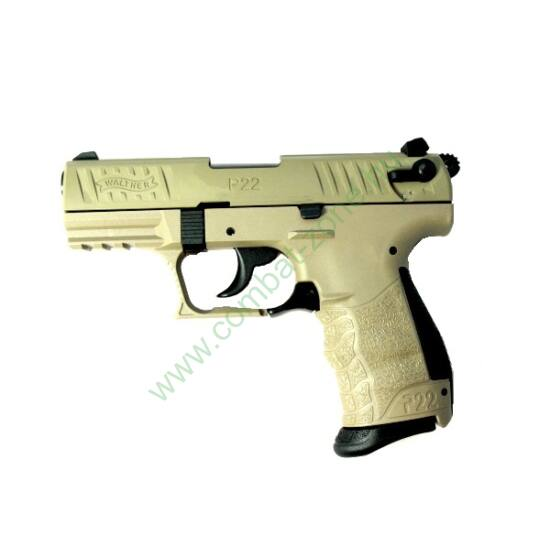 Walther P22 Q gáz-riasztó pisztoly, Homok