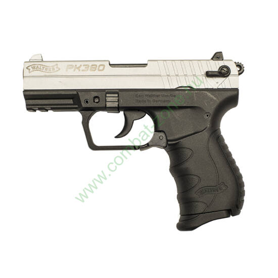 Walther PK380 gáz-riasztó pisztoly, nikkel