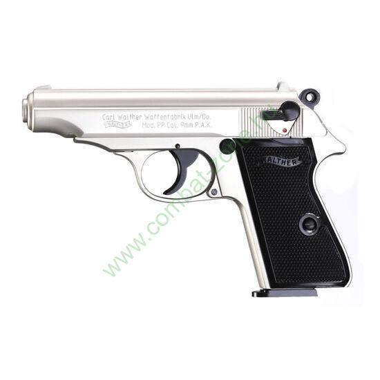 Walther PP Nickel gáz-riasztó pisztoly