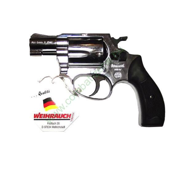 Weihrauch Arminius HW37 gáz-riasztó pisztoly, króm