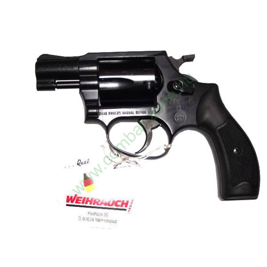 Weihrauch Arminius HW37 gáz-riasztó pisztoly, fekete
