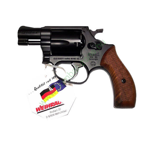 Weihrauch Arminius HW88 gáz-riasztó pisztoly, fekete