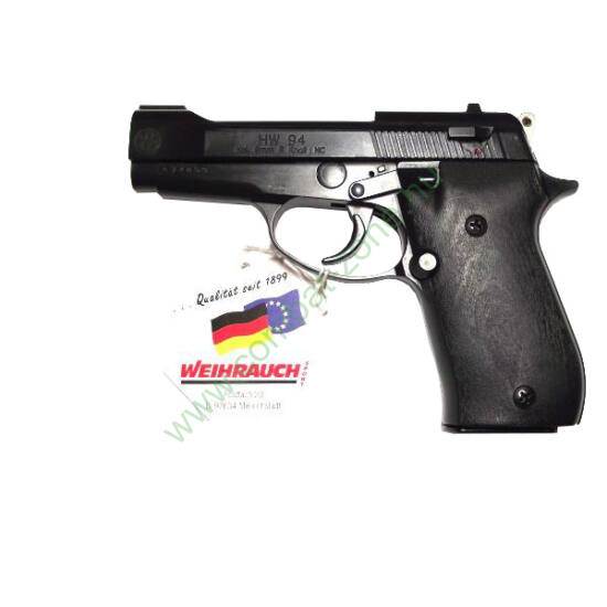 Weihrauch HW94 gáz-riasztó pisztoly, fekete