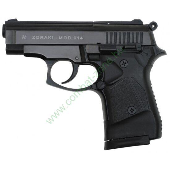 Zoraki 914 Black FULL AUTO gáz-riasztó pisztoly