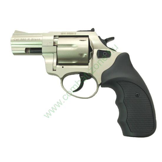 Zoraki R1 gumis gáz-riasztó pisztoly, nikkel