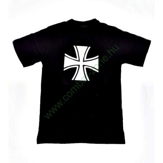 Vaskeresztes póló