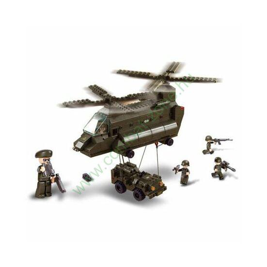 Sluban szállító helikopter
