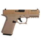 AW Custom VX9 mod 1 TAN airsoft pisztoly, green gas