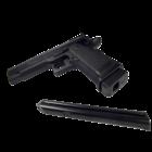 CM128 Colt 45 elektromos pisztoly, fekete