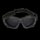 Ultimate Tactical Szürke/olive rácsos védőszemüveg