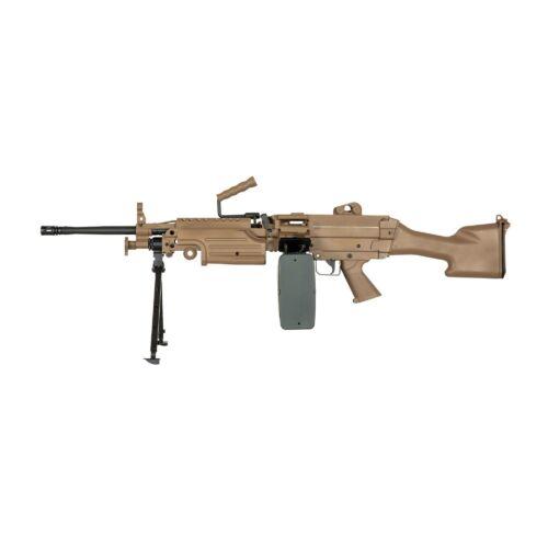 Specna Arms M249 MK2 Tan elektromos könnyű géppuska