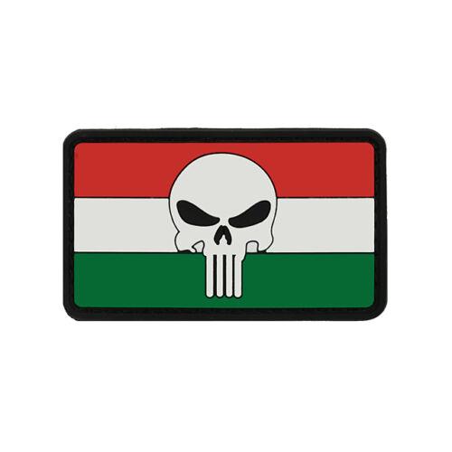 Flag Skull HUN2 felvarró