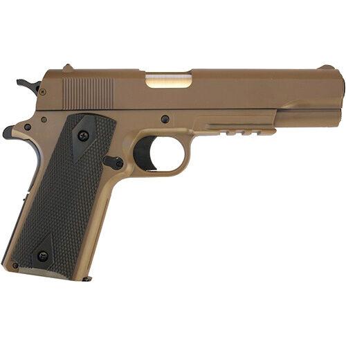 Colt 1911 rugós airsoft pisztoly, fém szán