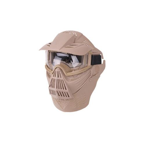 Guardian V4 arcvédő maszk árnyékolóval, tan