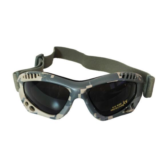 Miltec védőszemüveg, füstüveg-AT digital