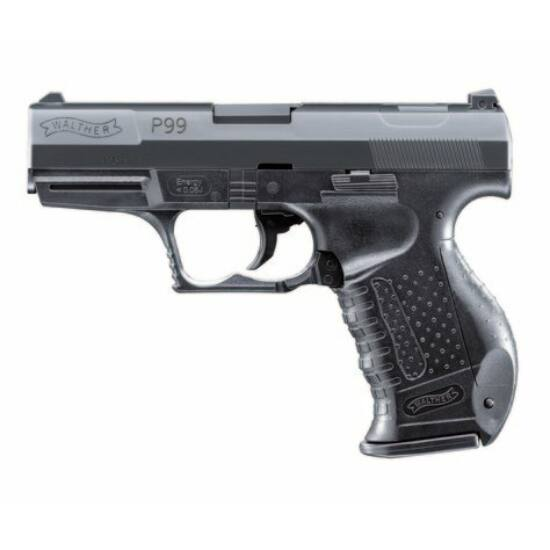 Walther P99 rugós airsoft pisztoly, fekete