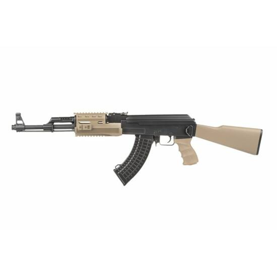 SRT-09 AK47 Tactical airsoft gépkarabély Tan
