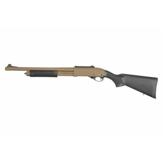 Golden Eagle 8870 airsoft shotgun Half Tan (green gas)