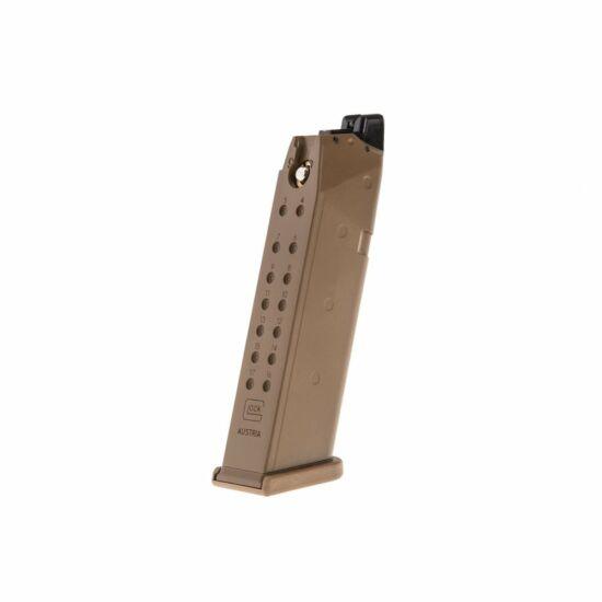 Glock 19X tartalék tár, Green gas
