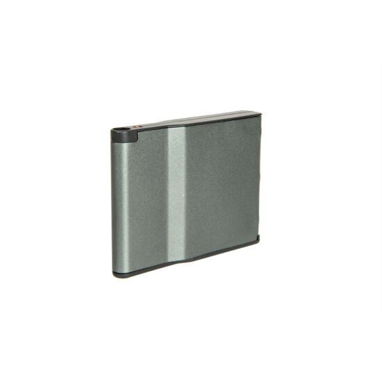 SRS alumínium tár, 30BB, szürke