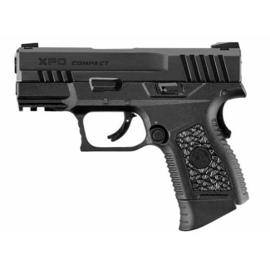 ICS Black Leopard Eye XPD GBB airsoft pisztoly, fekete