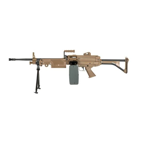 Specna Arms M249 MK1 Tan elektromos könnyű géppuska