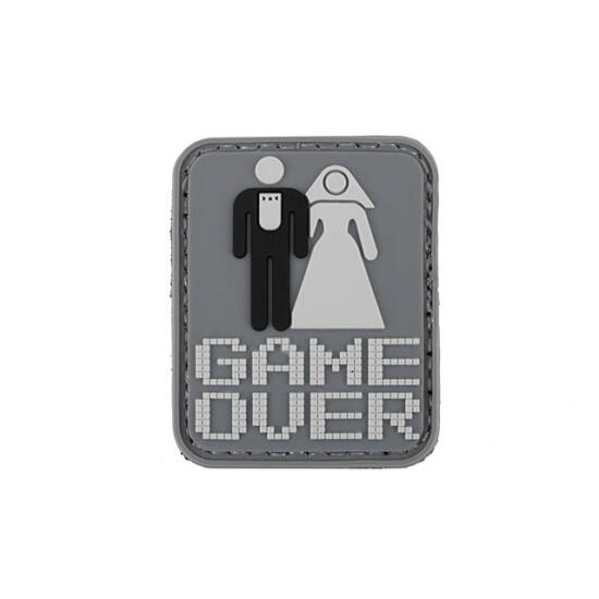 Game Over felvarró