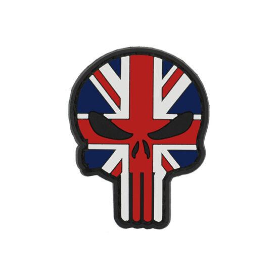 Flag Skull UK felvarró