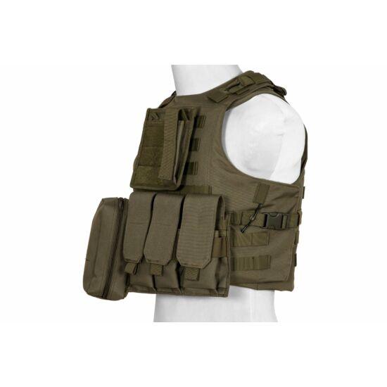 Taktikai mellény, FSBE, khaki