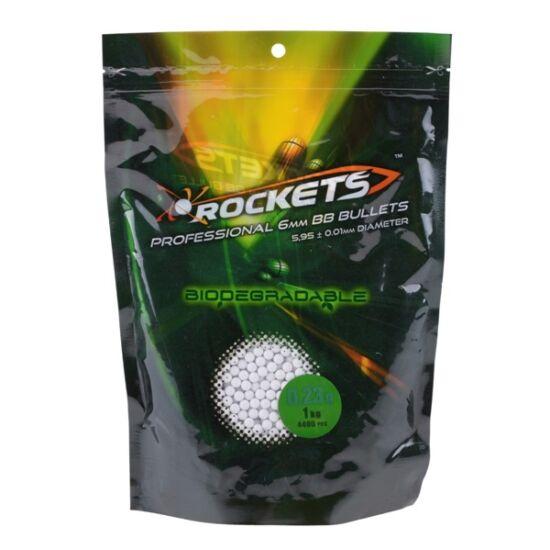 Gunfire Rockets precíziós BB, BIO, 0.23g, 1kg
