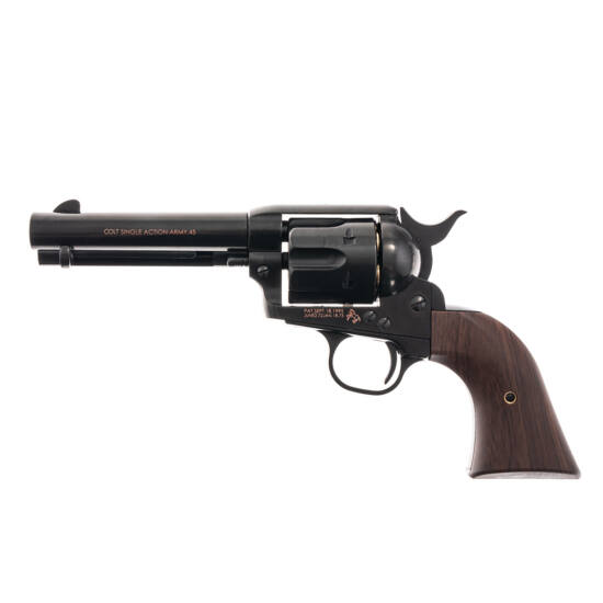 Colt Single Action Army Peacemaker airsoft revolver fekete (green gas)