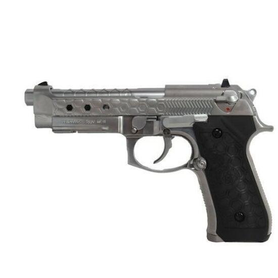 Beretta M92 Hexcut silver, GBB airsoft pisztoly