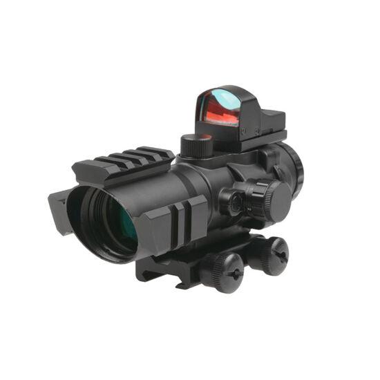 Theta 4x32 Rhino típusú kistávcső Mikro Red-dottal