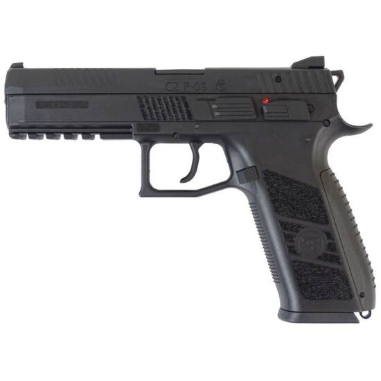 CZ P09 airsoft pisztoly fekete Green gas/CO2 + koffer