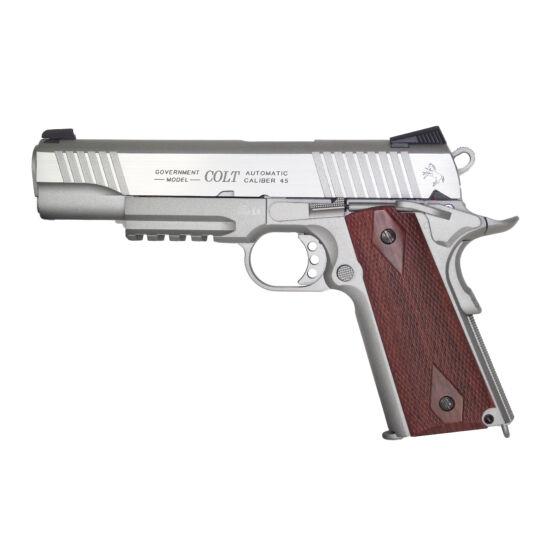 Colt 1911 Rail gun, CO2, króm