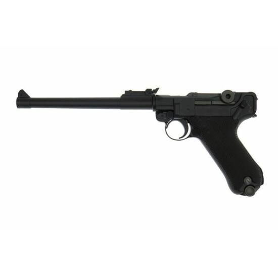WE P08 Parabellum Long GBB airsoft pisztoly