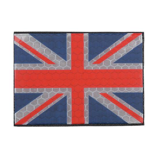 Felvarró, UK Flag, IR